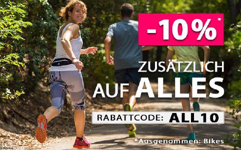 10% Extra-Rabatt auf alles bei sportokay.com