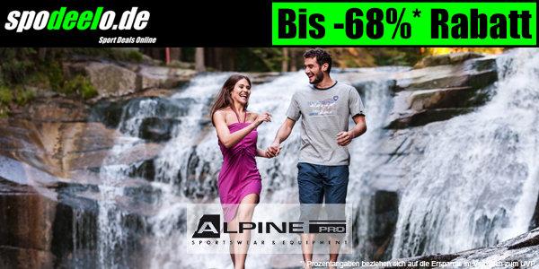 Alpine Pro bis zu 68% günstiger bei spodeelo.de