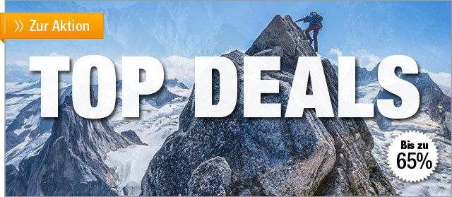 Ausgewählte Top-Deals bei outdoor-broker.de - bis zu 65% günstiger