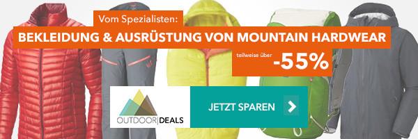 Bekleidung & Ausrüstung von Mountain Hardwear - teilweise über 50% reduziert