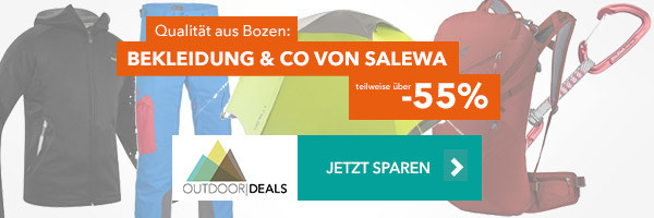 Bekleidung & Equipment von Salewa - teilweise über 55% günstiger