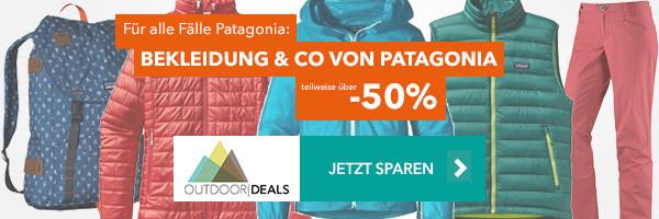 Bekleidung & Co von Patagonia - teilweise über 50% reduziert