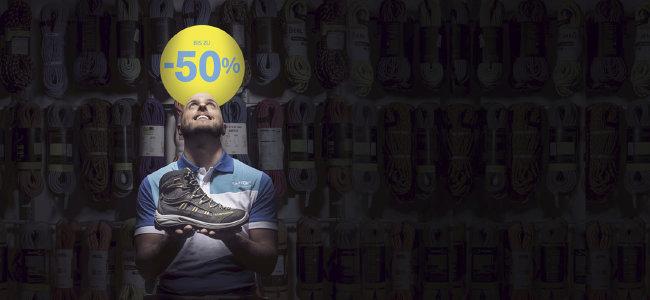 Bergaktion bei sportler.com - Bergartikel bis zu 50% reduziert