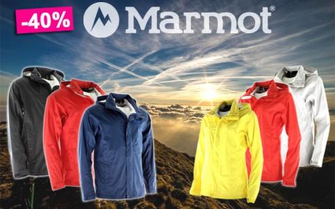 Bis zu 40% auf Marmot Jacken bei sportokay.com