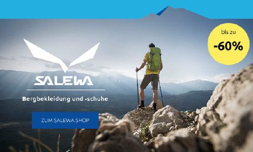 Bis zu 60% Rabatt auf Salewa bei sportler.com