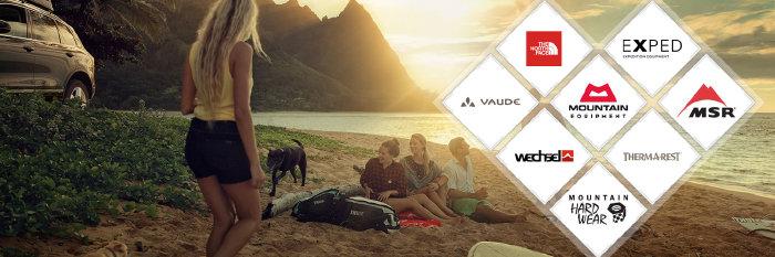 Campingartikel zu Aktionspreisen bei exxpozed.de