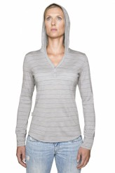 Icebreaker Women's Superfine 200 Bliss Hood
