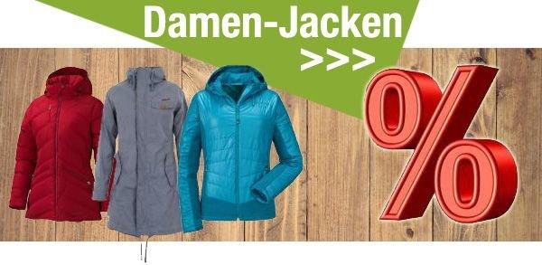 Jacken für Damen im Sale bei unterwegs.biz