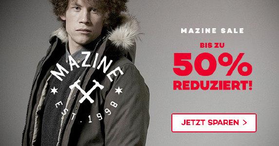 Mazine-Sale bei planet-sports.de - bis zu 50% reduziert