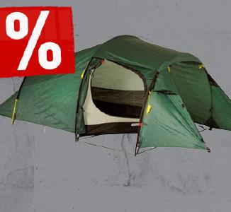 Mindestens 20% Rabatt auf Zelte bei bergfreunde.de