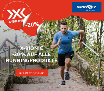 Nur noch heute: 20% Rabatt auf X-Bionic