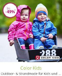 Outdoor- und Strandmode von Color Kids bis zu 49% reduziert bei limango.de