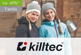 Outdoorbekleidung von killtec bis zu 49% reduziert bei limango.de