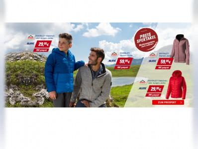 Preisspektakel auf Intersport.de - Markenartikel bis zu 40% günstiger