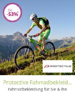 Protective Fahrradbekleidung bis zu 53% reduziert bei limango.de