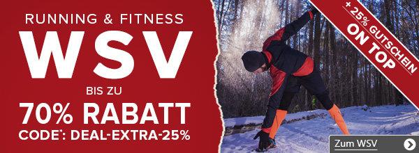 Running & Fitness WSV bei vaola.de - bis zu 70% reduziert + 25% extra