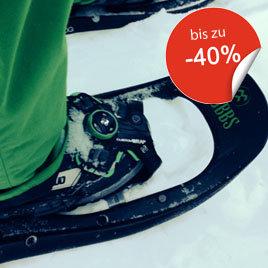 Schneeschuhe bis zu 40% reduziert bei sportler.com