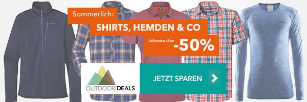 Shirts, Hemden & Co - teilweise über 50% reduziert