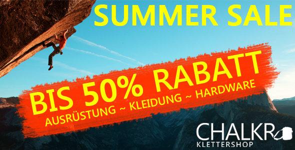 Summer-Sale-Start bei chalkr.de