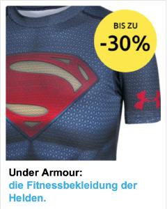 Under Armour bei sportler.com - bis zu 30% reduziert