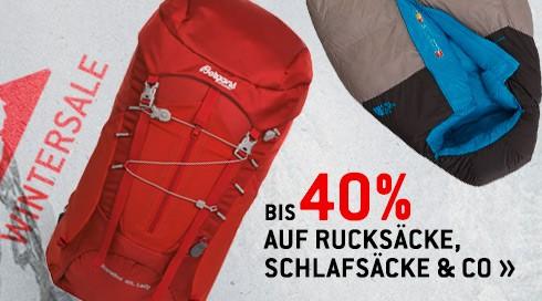 WSV Rucksäcke und Schlafsäcke bei bergfreunde.de