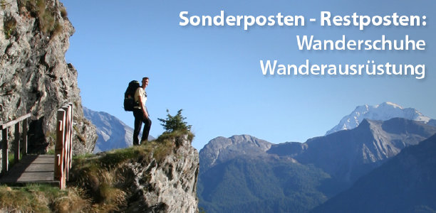 Wander-Restposten-Sale bei hive-outdoor.com - Rabatte bis zu 75%
