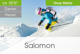 Wintersport-Bekleidung von Salomon bei limango.de - bis zu 56% reduziert