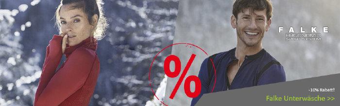 10% Rabatt auf Unterwäsche von Falke bei süd-west.com