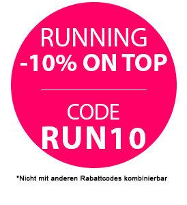 10% on top auf Runningartikel bei sportokay.com