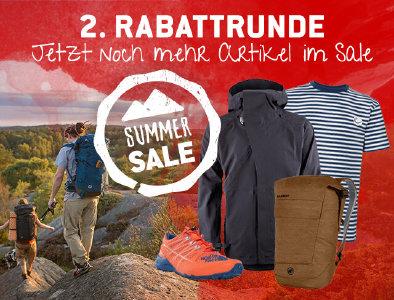 2. Runde im Summer Sale bei bergfreunde.de
