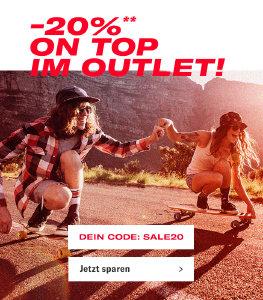 Aktion verlängert - 20% Extra-Rabatt auf reduzierte Artikel bei planet-sports.de