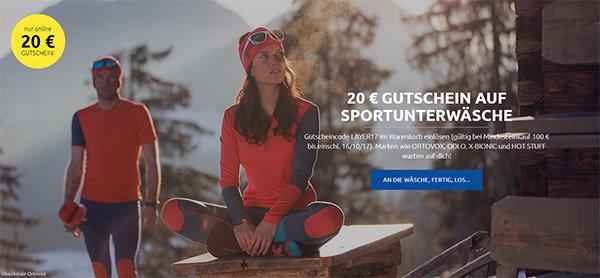 20€ Gutschein bei sportler.com
