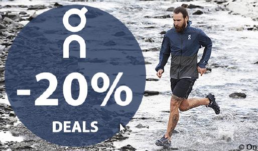 20% Rabatt auf Laufschuhe von On bei SportOkay