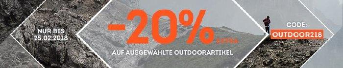 20% extra Rabatt bei sportscheck.com