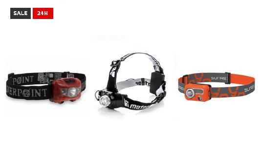 24-h-Sale - Stirnlampen bis zu 70% reduziert bei hive-outdoor.com