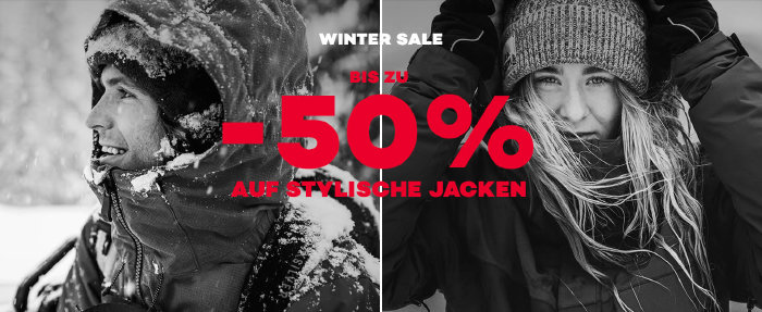 50% + 15% im Winter Sale von planet-sports.com sparen