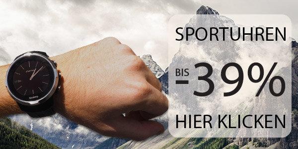 Sportuhren bis zu 39% günstiger bei sportokay.com