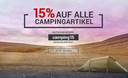 Bergsport-welt.de - 15% Rabatt auf alle Campingartikel