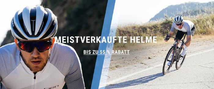 Bestseller Bikehelme bis zu 55% günstiger bei wigglesport.de