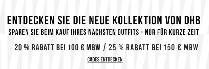 Bis zu 25% Rabatt bei Kauf von dhb-Radbekleidung bei wigglesport.de
