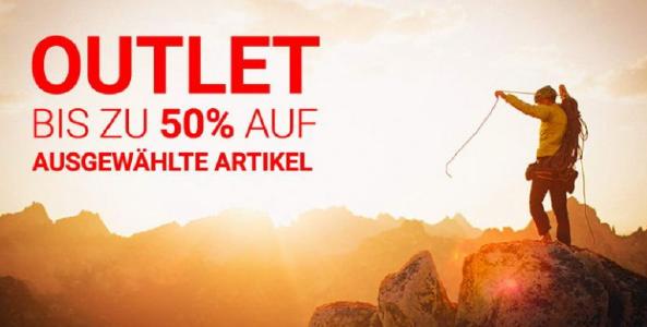 Bis zu 50% Rabatt auf ausgewählte Artikel bei outdoortrends.de