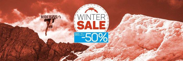 Bis zu 50% im Winter Sale von blue-tomato.com sparen