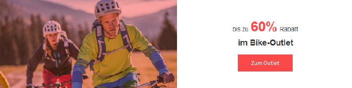 Bis zu 60% Rabatt auf Bike-Artikel bei bergzeit.de