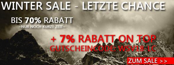 Bis zu 70% + 7% Rabatt bei chalkr.de