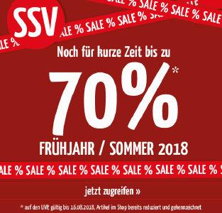 Bis zu 70% Rabatt im SSV bei doorout.com