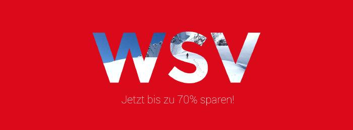 Bis zu 70% Rabatt im WSV von bergsport-welt.de
