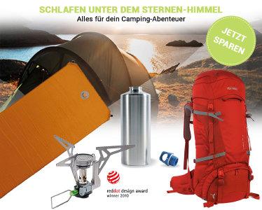 Campingartikel reduziert bei bergsport-welt.de