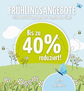 Frühlingsangebote bei doorout.com - Rabatte bis zu 40%