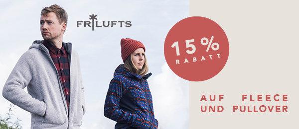 Frilufts Fleecejacken und Pullover 15% reduziert bei globetrotter.de