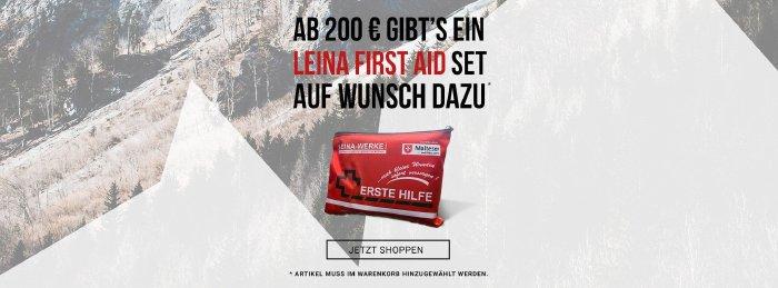 Gratis Erste-Hilfe-Set bei bergsport-welt.de